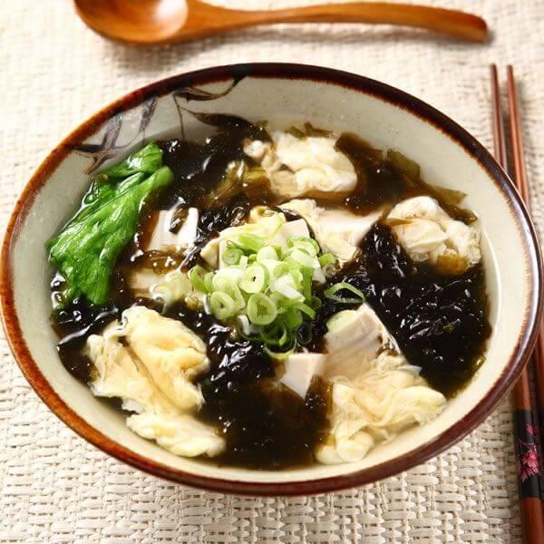 紫菜肉丝粟米蛋花汤