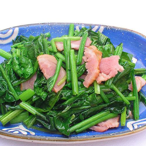 卷心菜炒培根肉