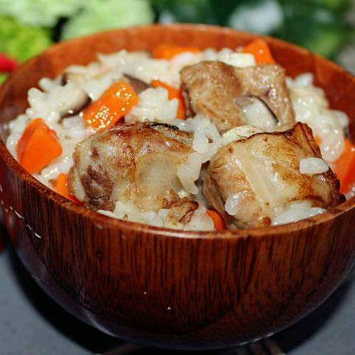 青蟹什锦糯米饭