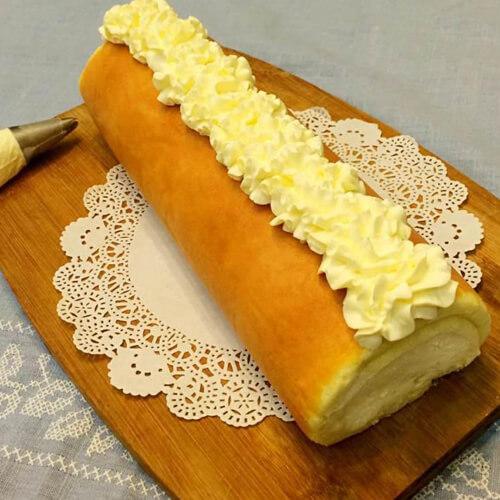 美味的大理石芝士蛋糕条