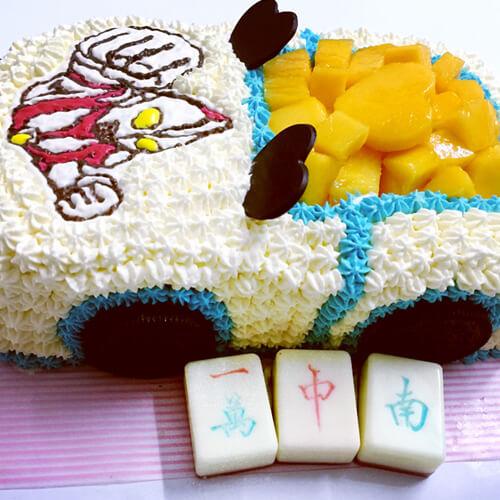 双层汽车蛋糕