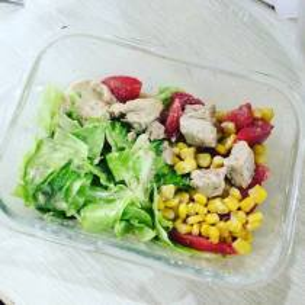 甜椒蔬菜沙拉