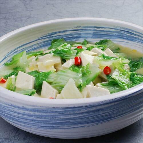 虾酱白菜豆腐