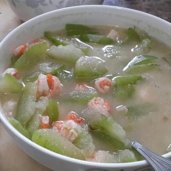 虾干冬瓜粉丝汤