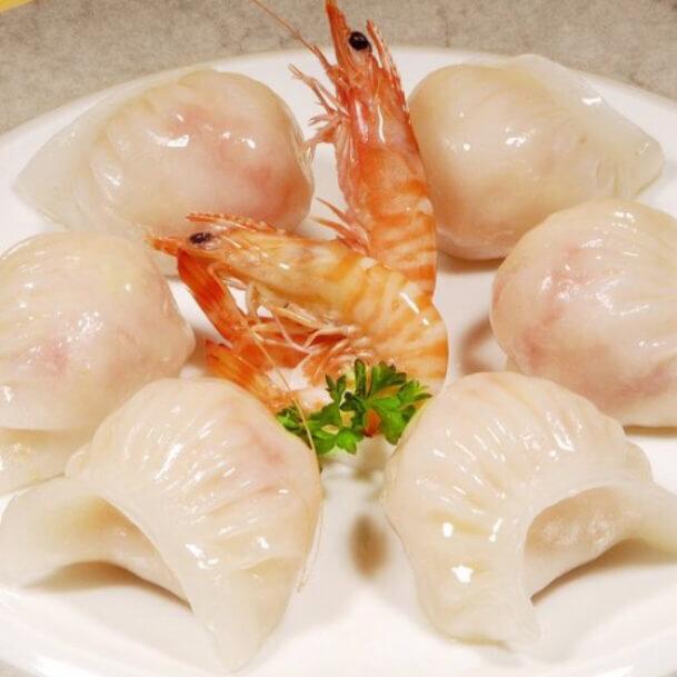 家常水晶虾饺
