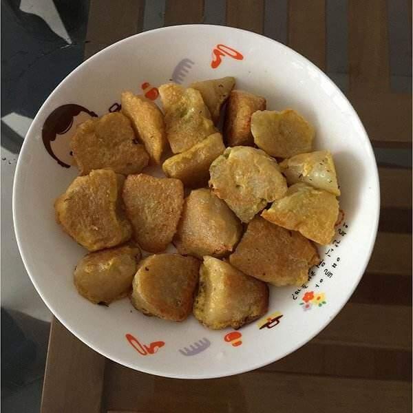 好吃的香酥粽子
