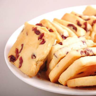 零添加蔓越莓饼
