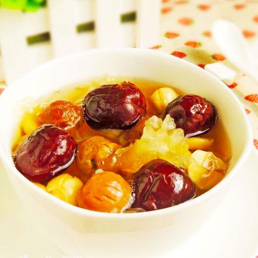 红枣银耳桂圆汤