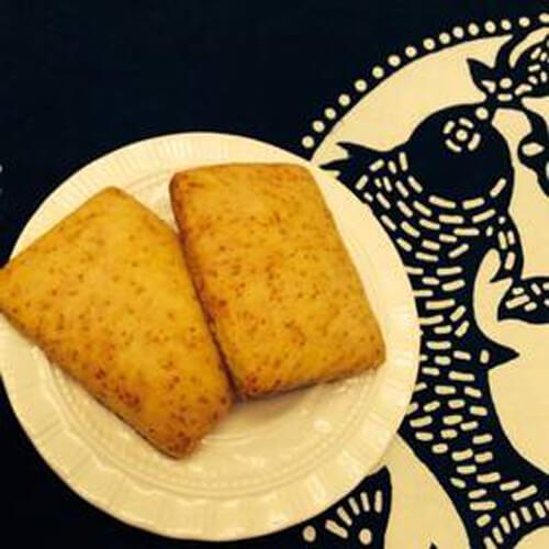 美味的绿豆发面饼干