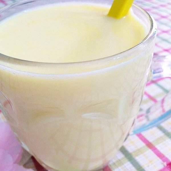 鸡蛋果牛奶汁