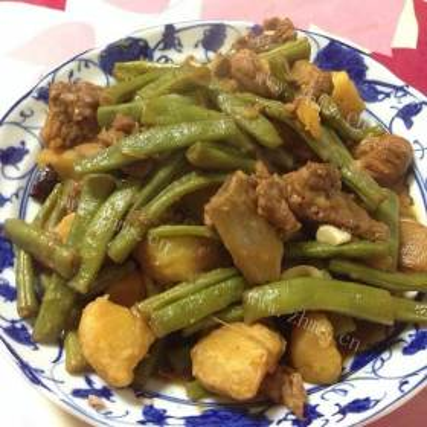 马玲薯烧芸豆