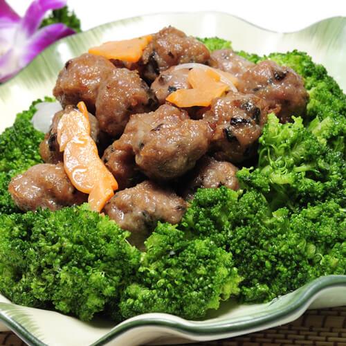 花菜烩牛肉