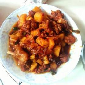 鸡大腿炖土豆