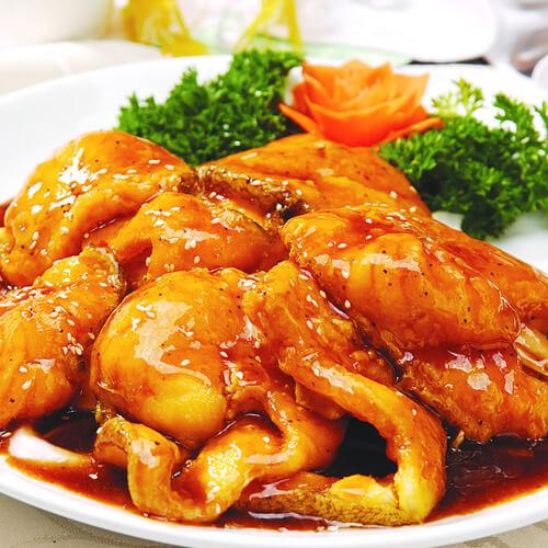 黑椒汁烤虾