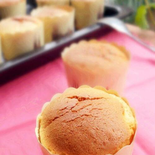 健康美食-橙香蛋糕