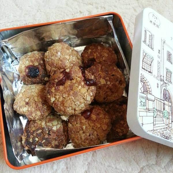 蔓越莓燕麦能量饼干