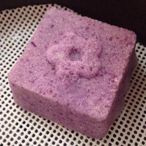 牛奶紫薯米糕
