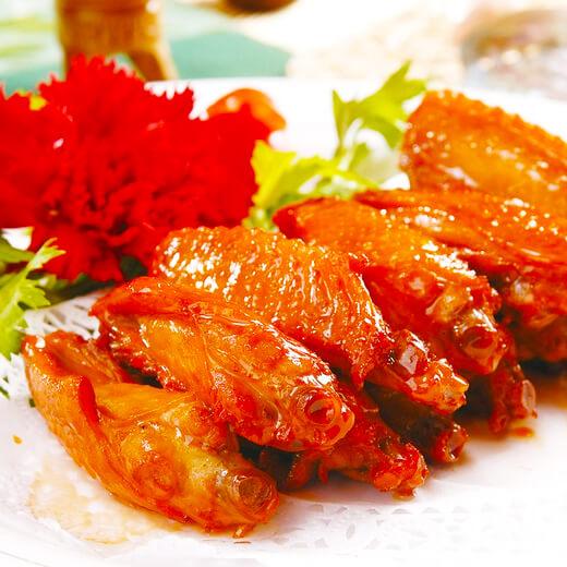 耗油酱汁鸡翅