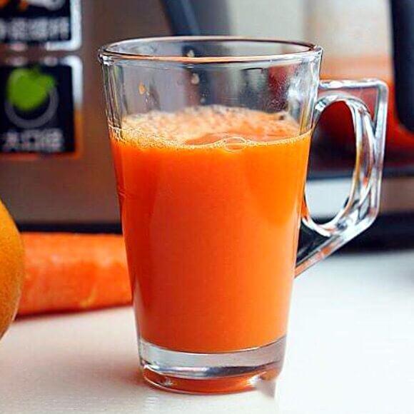 营养胡萝卜甜橙汁