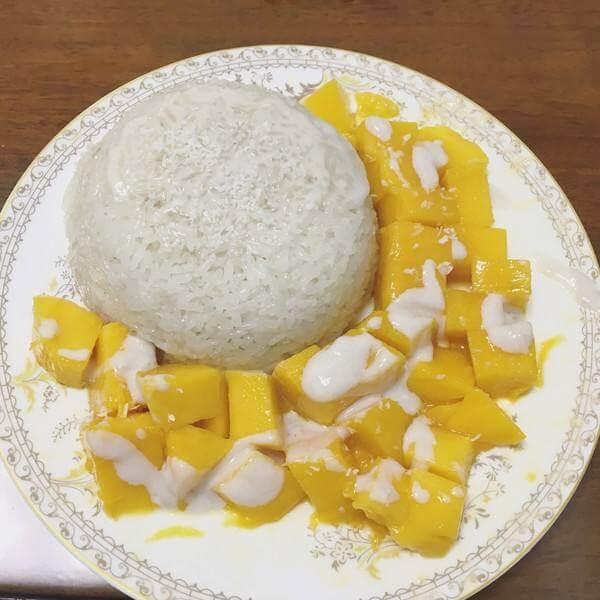 泰式椰香芒果饭
