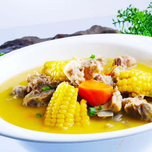 巴西菇萝卜排骨汤
