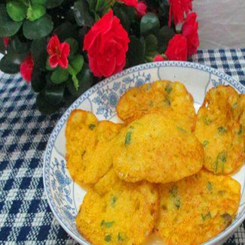 红萝卜豆浆楂饼