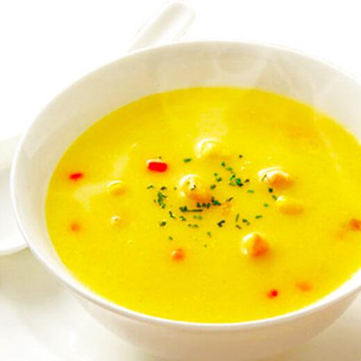 咸味胡萝卜丁玉米粥