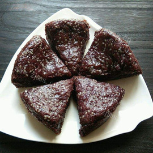 红豆葡萄干糯米糕