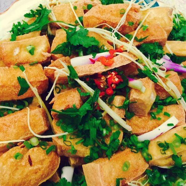 香炸豆腐角