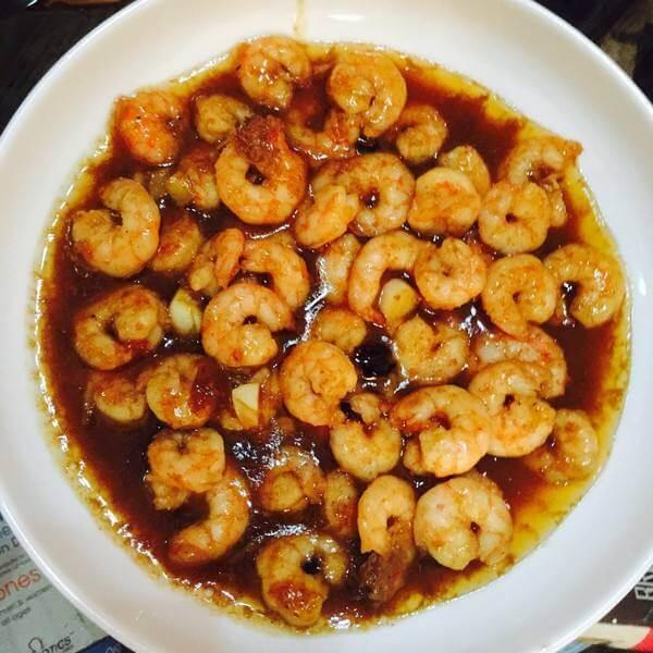 豇豆香菇虾煲