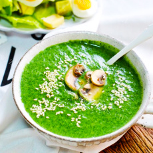 爱上菠菜浓汤