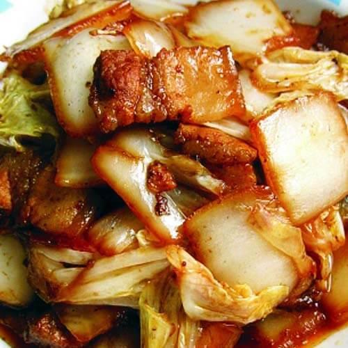 小炒大青大白菜