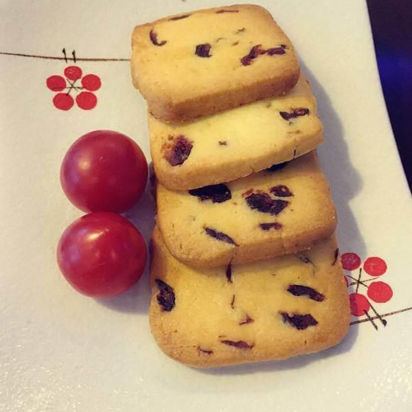 蔓越莓柠檬饼干