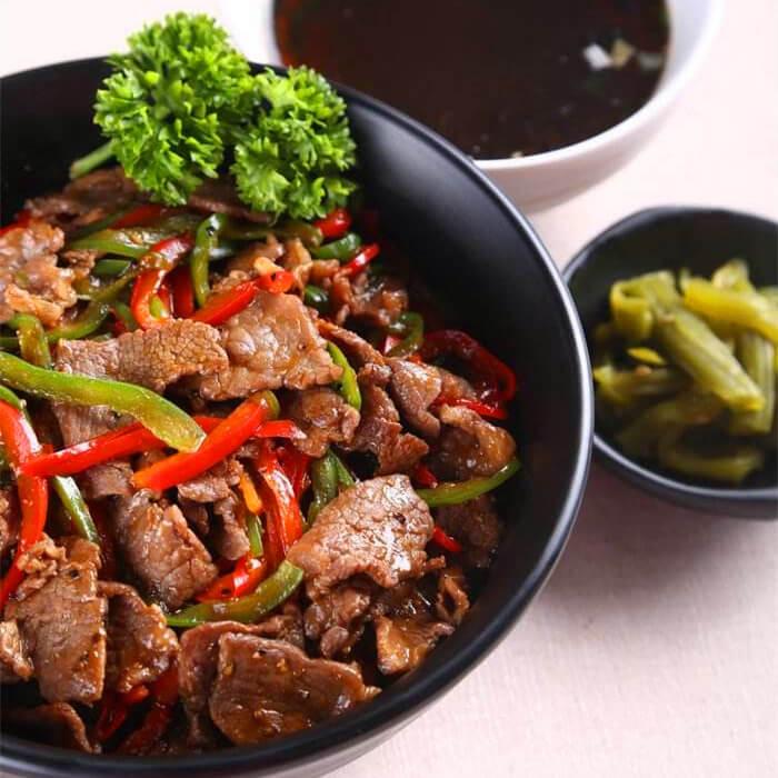 美味黑胡椒牛肉