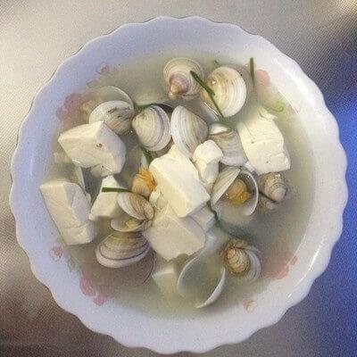 清水煮白蛤