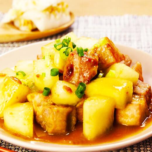 冬瓜支竹焖猪蹄