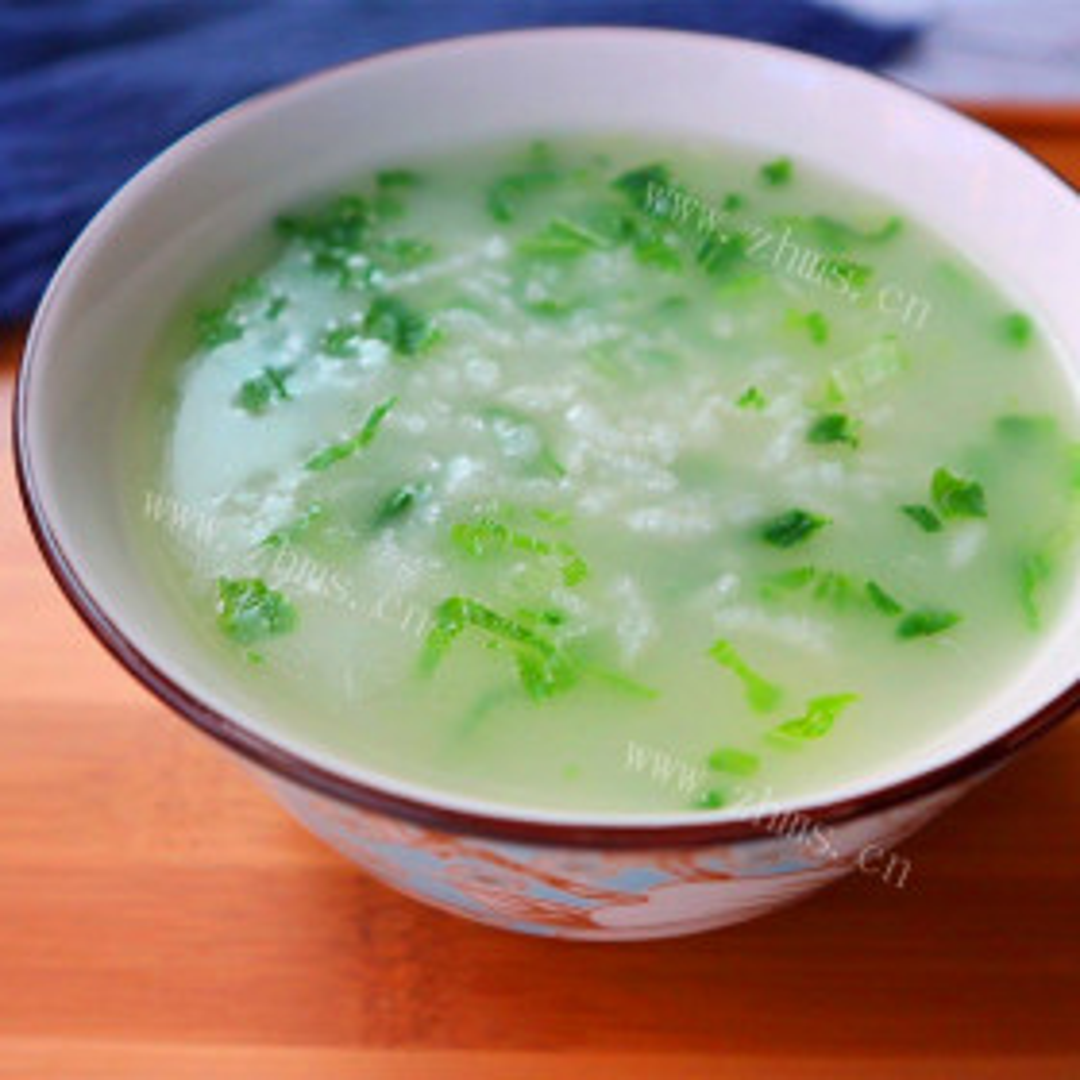 小白菜萝卜粥