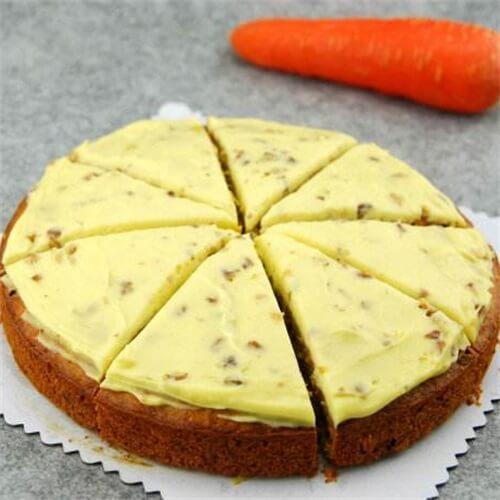 胡萝卜奶酪核桃蛋糕
