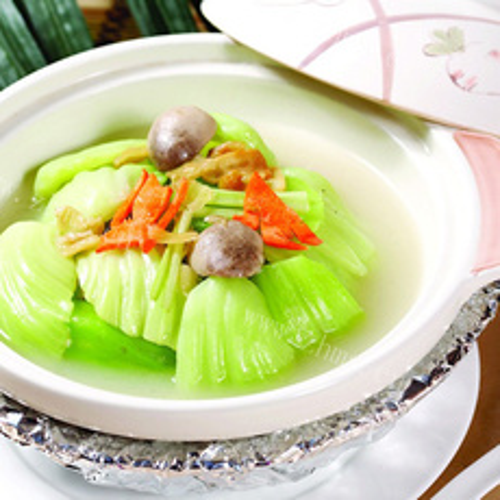 鱼卷花菜汤