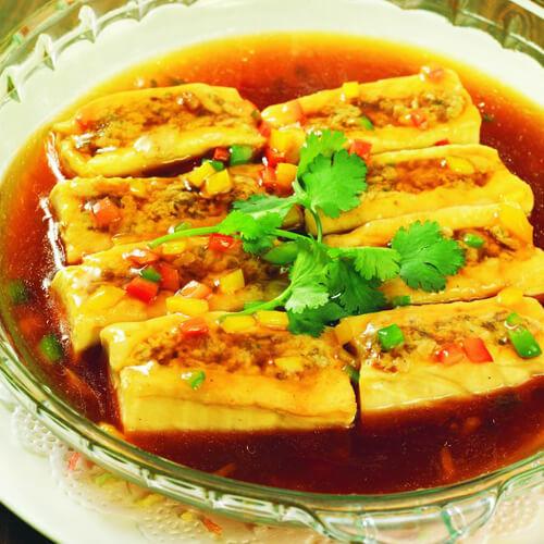 家常香辣酿豆腐