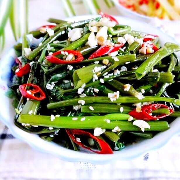麻椒空心菜