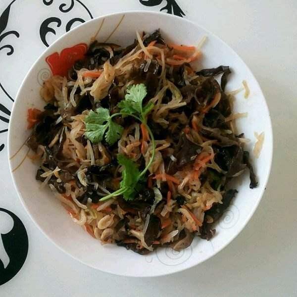 荷兰豆炒虾皮