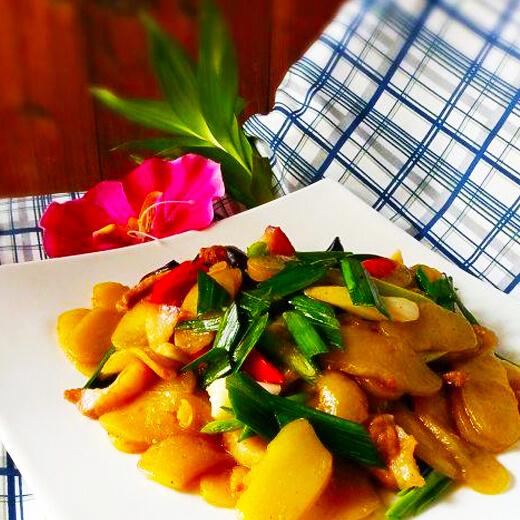炒薯粿(家庭版)