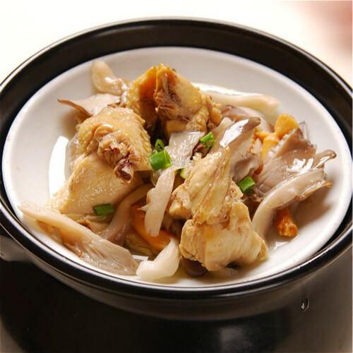 菌菇杂蔬鱼丸汤