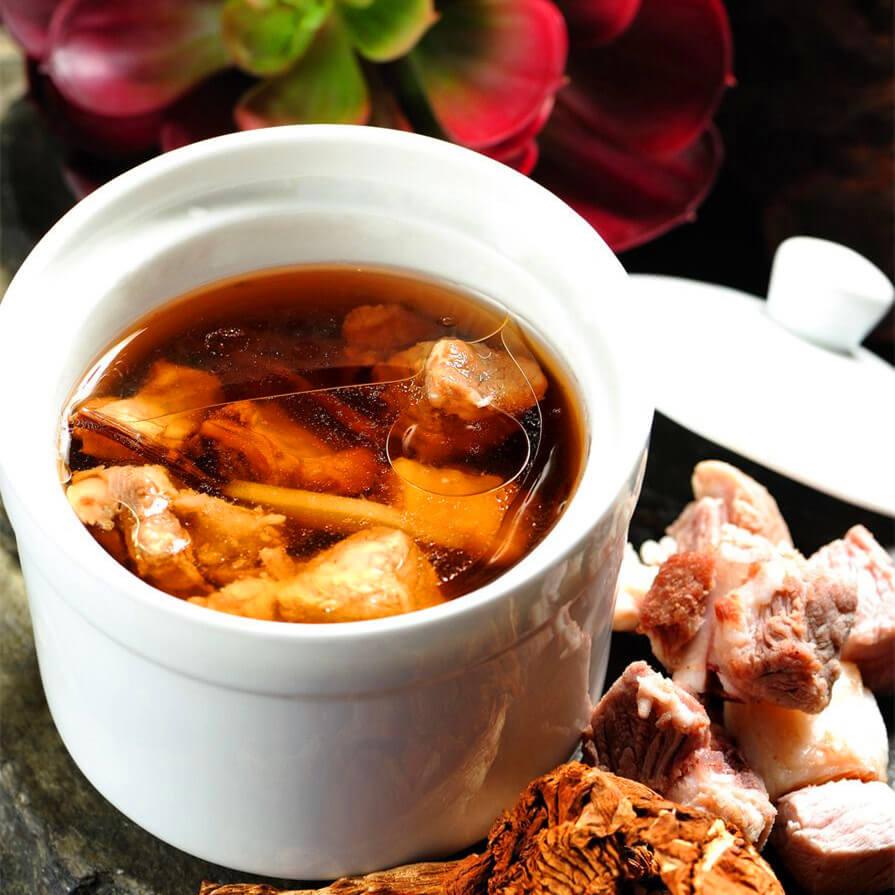 茶树菇番鸭汤