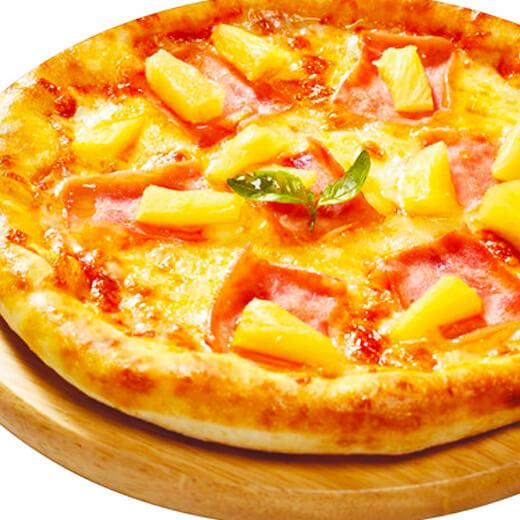 菠萝火腿批萨