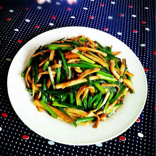韭菜杏鲍菇