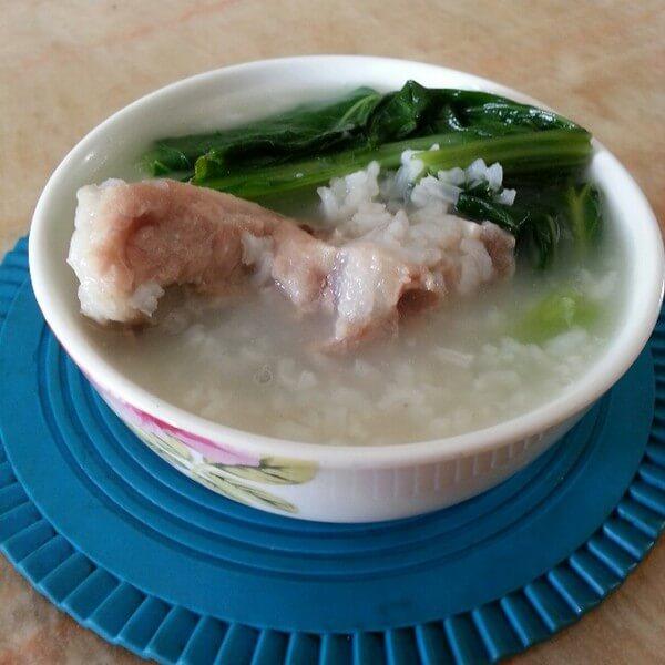 家庭版-皮蛋瘦肉芥菜粥