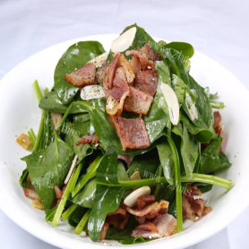 菠菜培根沙拉