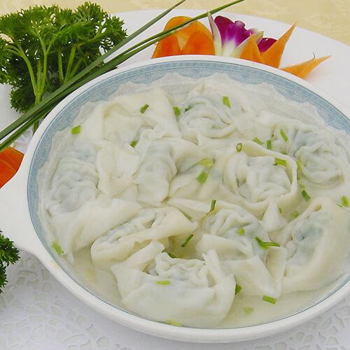 紫菜虾仁馄饨